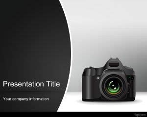 photo camera powerpoint template