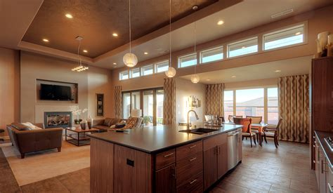 modern open floor plan 6 gorgeous open floor plan homes room bath
