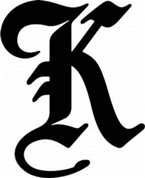 design k font font boe k bird old english upper case alphabets