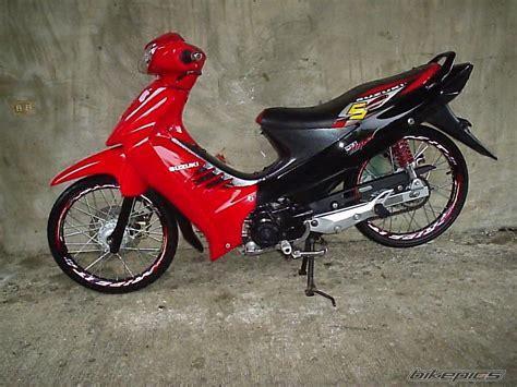 dunia modifikasi galeri foto modifikasi motor shogun sp
