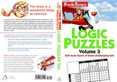 puzzle baron s large print logic puzzles books printable logic puzzles puzzle baron