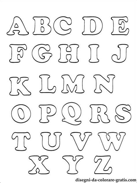 numeri latini in lettere alfabeto italiano o da colorare disegni