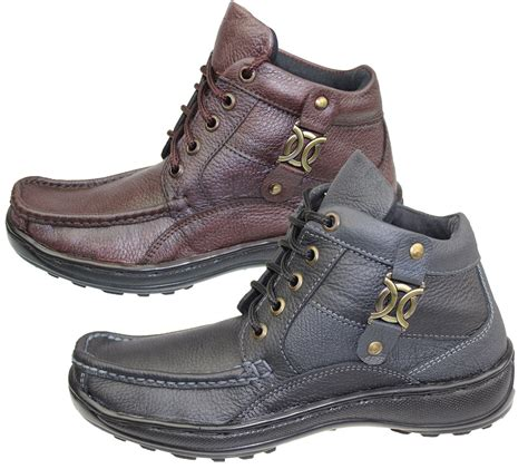 best comfort boots mens leather work boots hig top ankle hiking trail biker