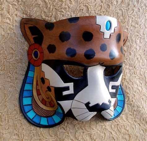 how to make a jaguar mask mayan jaguar mask 1 by merimask on deviantart