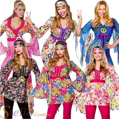 what to but a hippie fir christmas hippie 60s 70s hippy flower fancy dress costumes flares ebay