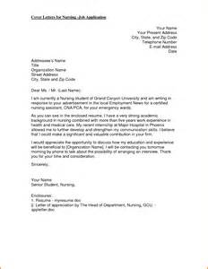 Application Letter Format Nurse Nurses Application Letter Agenda Template Website