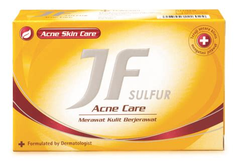 Jf Sulfur Acne Skin Care Soap 90gr by Jf Sulphur Acne Care Soap Bonanza Booths