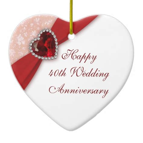 40th Wedding Anniversary by 40th Anniversary Gifts T Shirts Posters Other