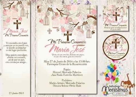 invitaciones primera comuni n tarjetas e invitaciones 25 best images about invitacion jimena on pinterest