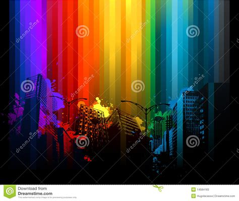 colorful city colorful city background stock photos image 14584183