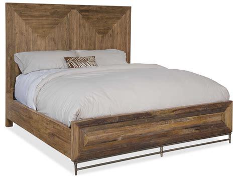 king size panel bed hooker furniture l usine medium wood king size panel bed