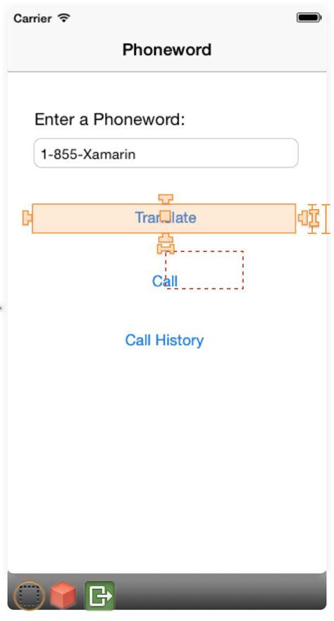 Auto Layout Programmatically Xamarin | auto layout with the xamarin designer for ios xamarin