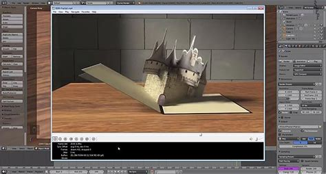 tutorial after effect pop up rigging and animating a popup book in blender lesterbanks