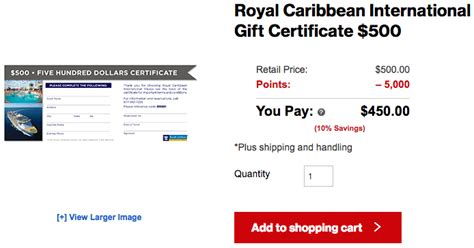 Royal Caribbean Gift Card - verizon smart rewards aren t completely useless travel codex
