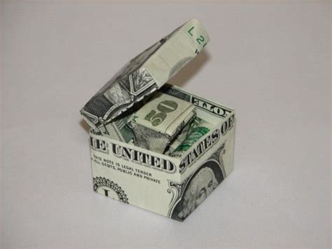 Money Origami Box - best 25 money origami ideas on folding money