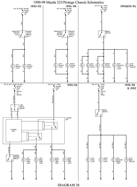 1990 mazda 323 wiring diagram efcaviation