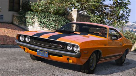 Dodge Challenger 1970 by 1970 Dodge Challenger Rt 440 Six Pack Gta5 Mods