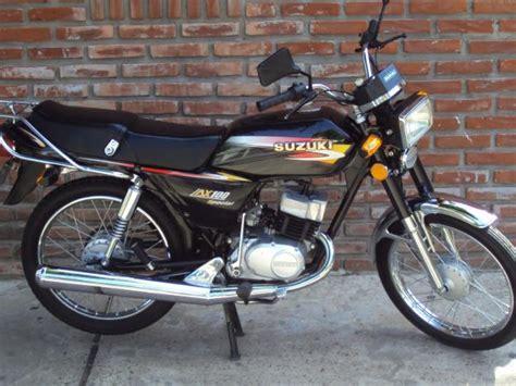 Suzuki Ax 100 by Vendo Motocicleta Suzuki Ax 100 La Plata Argentina