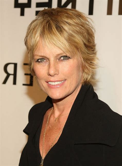 Short Razor Cuts For Women Over 50 | patti hansen short layered razor hairstyle for women over