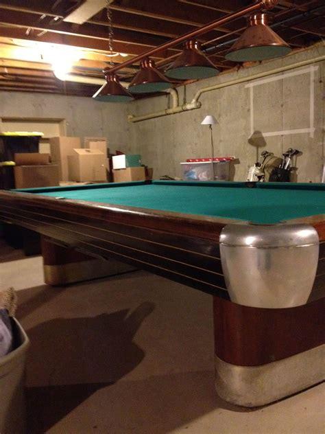 snooker table for sale 1945 1946 brunswick balke collender 10ft snooker table for