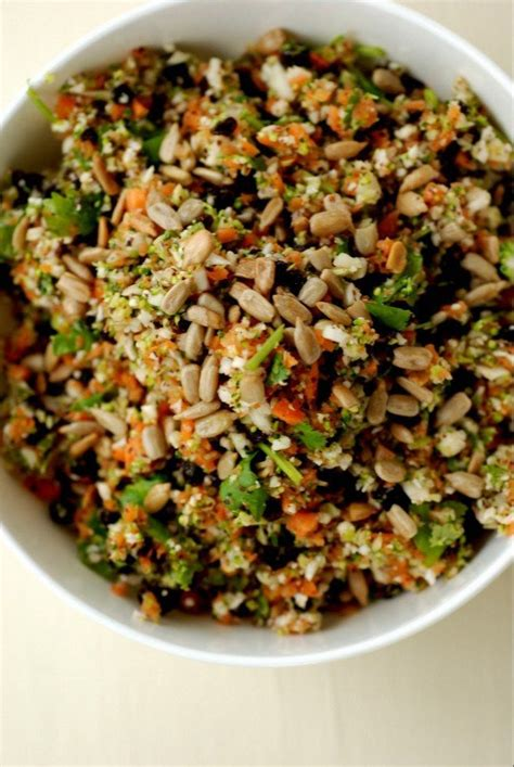 Whole Foods Detox Salad Benefits by Broccoli And Cauliflower Salad With Lime And Cilantro