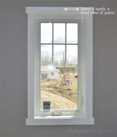 door trim styles how to design and install simple crafstman shaker window