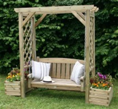 devon swing arbour garden arbour seats and arches from blhayne sawmill ltd