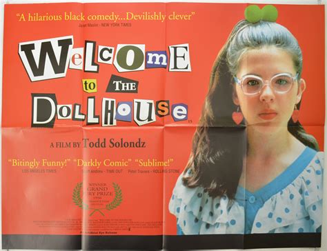 the doll house movie welcome to the dollhouse 1996 original quad movie poster