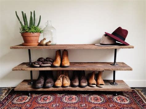 rustic wooden materials with shoe rack design popular 25 best ideas about shoe racks on pinterest diy shoe