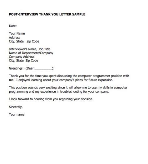 Thank You Letter Format For Presentation Thank You Letter Sle Presentation Thank You For Presentation Word Newer Letter