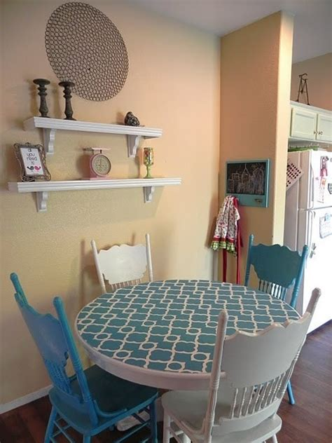 59 Best Accent Tables Images On Pinterest Stenciled Dining Room Table