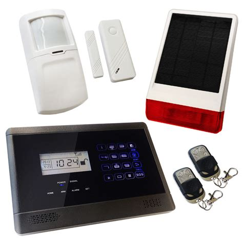 house alarms sentry pro wireless gsm auto dial house alarm solar solution 1