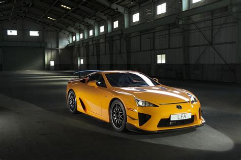Lexus Lfa Production by Lexus Lfa N 252 Rburgring Package Smashes Nordschliefe
