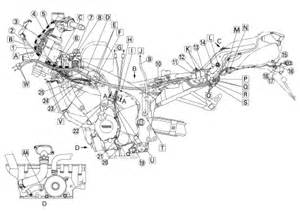 honda gold wing gl1800 wiring diagram cable harness routing 2002 honda gold wing gl1800 wiring