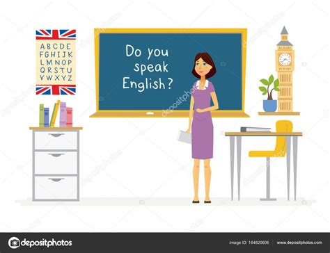 imagenes in english english teacher cartoon people characters illustration