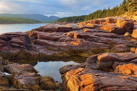 Otter Cove, Acadia National Park Sunset