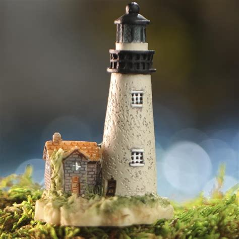 miniature lighthouse coastal decor home decor