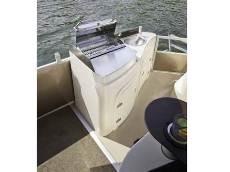 boat mini grill pontoon boat deck boat forum view topic thoughts on