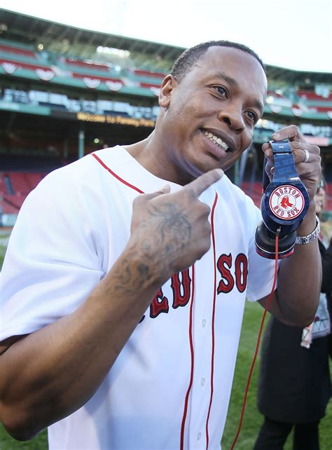 celebrity juice drinking games dr dre in new york yankees v boston red sox zimbio