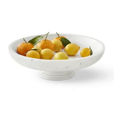 fruit bowls marble fruit bowl large williams sonoma