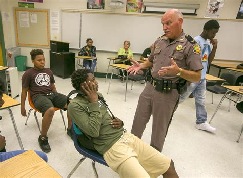 youth summit meets  law enforcement officers news