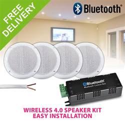 ceiling speakers bluetooth bluetooth ceiling speakers water resistant 4 speaker home