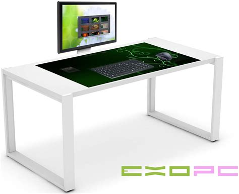 touch screen desk surface viewsonic unveils desktop of the future with 32