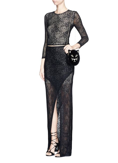 Via Maxi and lace dress we how to do it