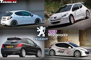 Peugeot 207 Gti Tuning View Of Peugeot 207 Gti 1 6 Photos Features And