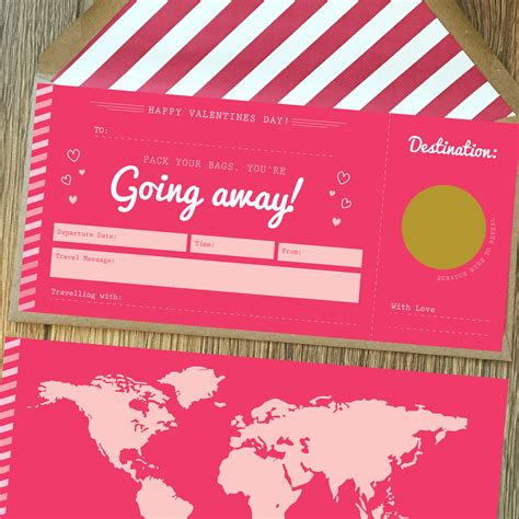 valentines day travel valentines jetting scratch card boarding pass rodo