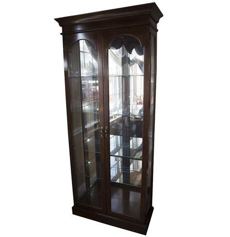 lighted curio cabinet for sale lighted curio cabinet ebth