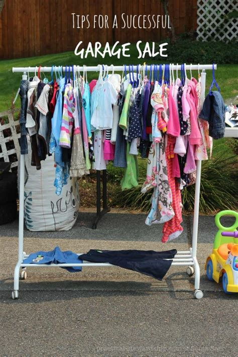 Garage Sale Tips by Tips To A Successful Garage Sale Practical Stewardship