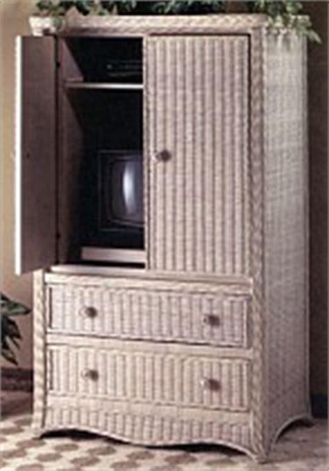 wicker tv armoire wicker corner tv stand swivel top tv cabinet wide