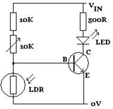light activated variable resistors toggle ldr light dependent resistors